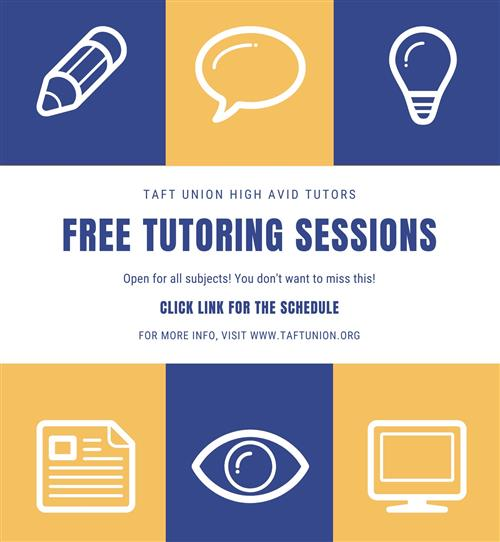 AVID Tutoring Available Online