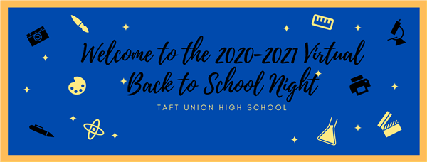 Welcome to the 202-2021 Virtual Back to School Night