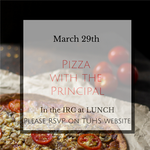 Pizza with the Principal 3.29.17