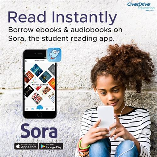Link to OverDrive for eBooks, audiobooks & video